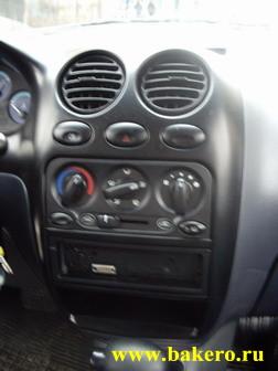 Daewoo Matiz: центральная консоль