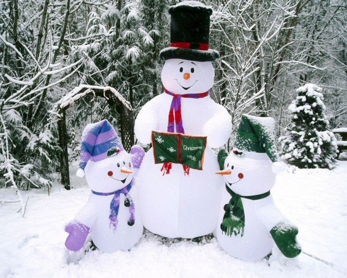 Снеговик (700x560, 221Kb)