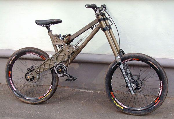 Даунхилл велосипед своими руками