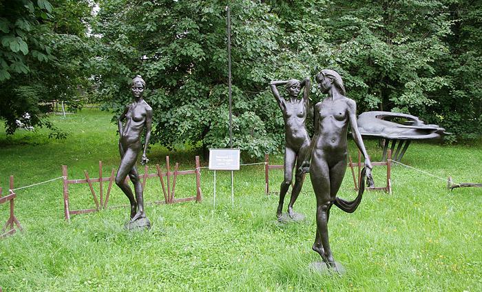 Музеон - парк в Москве - фото, адрес, отзывы