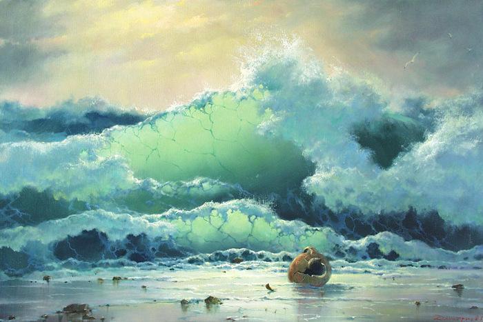 Морские пейзажи г дмитриева