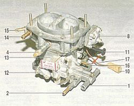 Ваз 2109 схема подсоединения Ваз 2109 схема подсоединения патрубков к в магазине я замена крана отопителя ваз 2109...