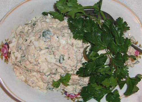 "salad ""salmon"""