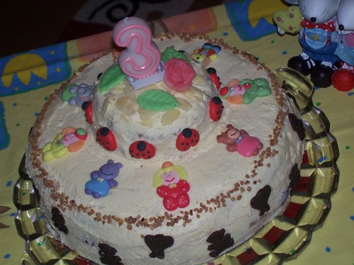 Торт для девочки трех лет своими руками