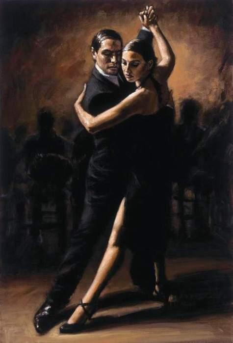 живопись танго: