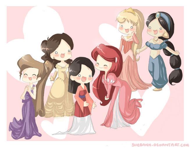 Принцессы Винкс и Диснеевские картинки и игра для девочек