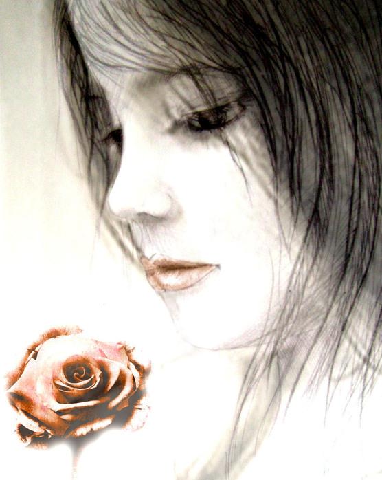 Нарисовать цветок картинки как