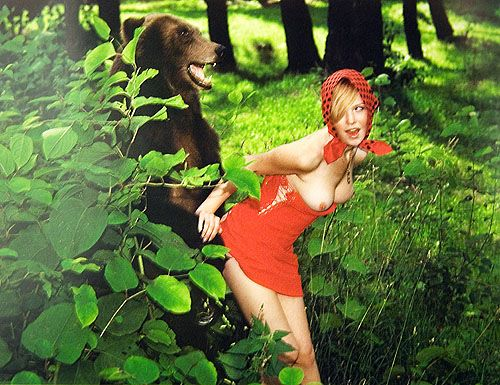 порно лес фото