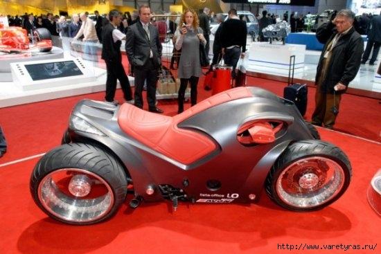 Четырехколесный мотоцикл sbarro pendolauto в