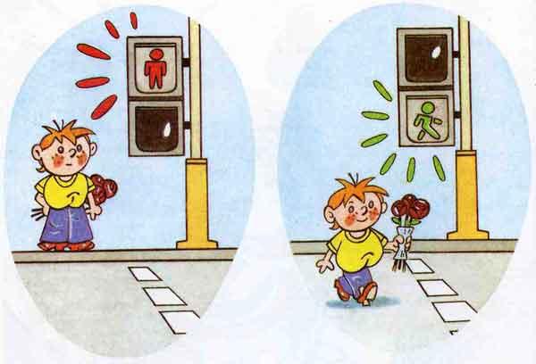 Описание: Теги. детские рисунки про правила дорожного движения.