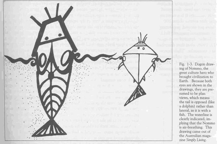 Племя Догонов в Африке