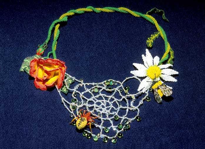 Бисерный Арт в работах Карен Пауст.  Ее сайт. http://www.karenpaust.com.