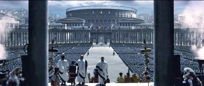 Рим из фильма «Гладиатор»
