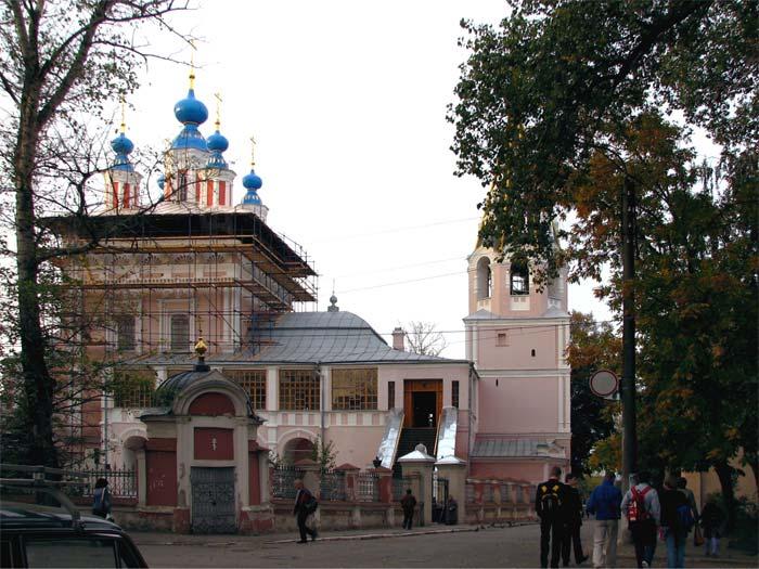 Церковь Геогия 'за верхом'