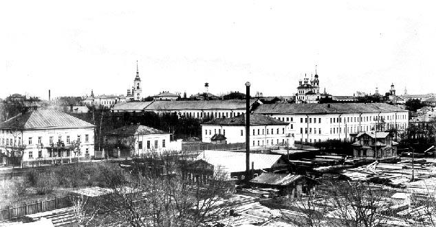 Панорама Верхней Набережной улицы