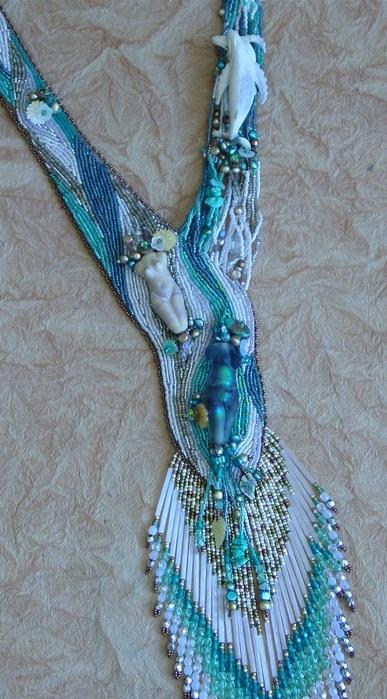 Искусство вышивки бисером.  The Art of Bead Embroidery.