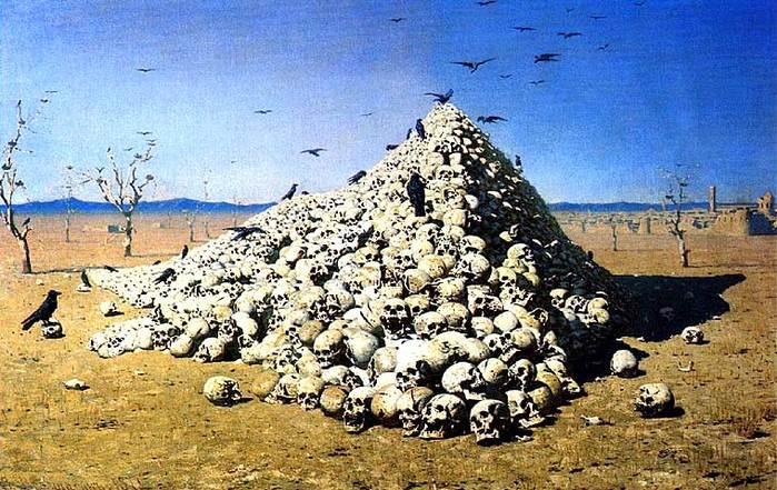 Верещагин: Апофеоз войны. 1871