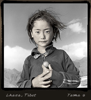 Yama, Lhasa. Photo by Phil Borges