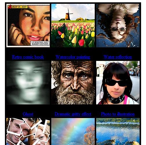 сотня самых навороченных эффектов в фотошопе