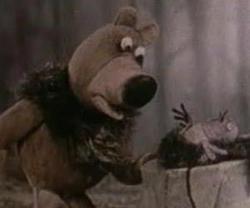 Малиновка и Медведь.  Ссылка.  Натан Лернер.