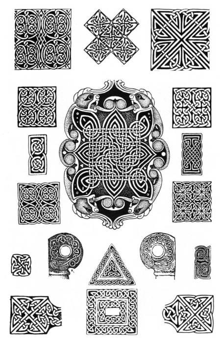 кельтский - Вышивка бисером.