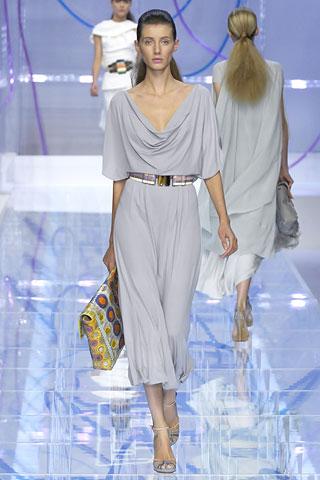 Выкройка платье в греческом стиле.