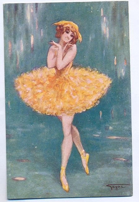 Балет в открытках
