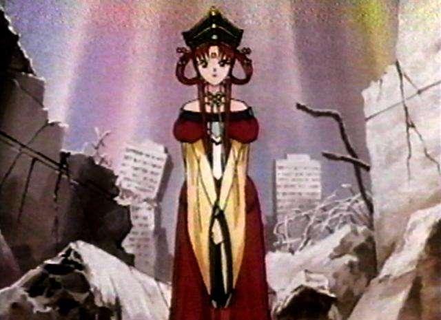 Принцесса среди развалин (640x465, 36Kb)