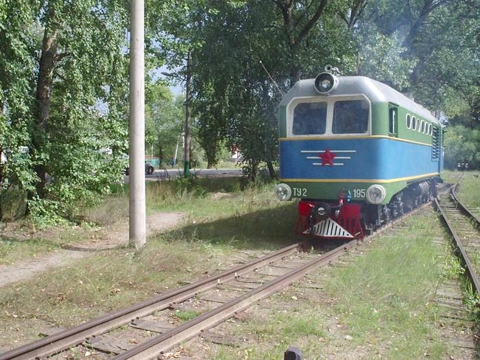 Детская железная дорога в