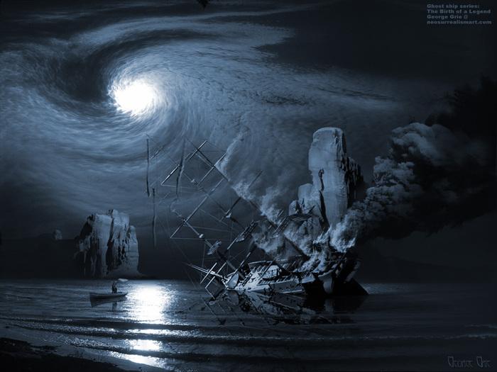 Призраки погибших кораблей.