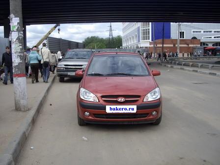 Hyundai Getz около станции Болшево (Королев)
