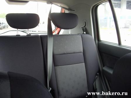 Hyundai Getz Хендай Гетц Задние сиденья