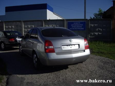 Nissan Primera Ниссан Примера Регситрация автомобиля в ГИБДД в Ельне