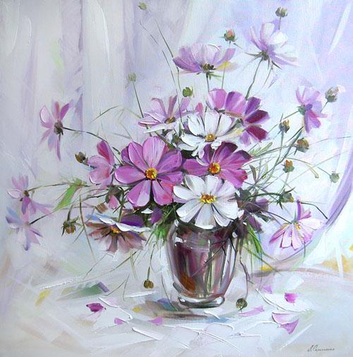 Цветочный рай художницы Людмилы ...: www.liveinternet.ru/community/solnechnolunnaya/post77874895