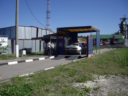 Проверка на стенде Техосмотр в ГАИ ГИБДД