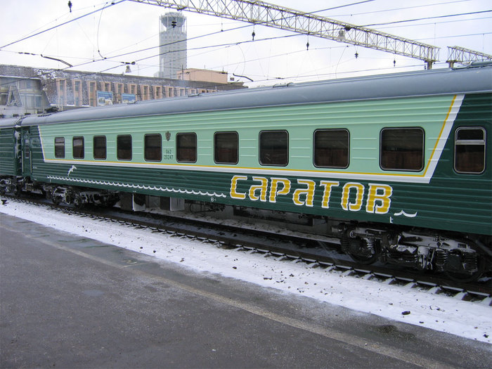 фирменные поезда и вагоны