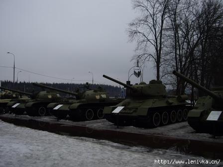 Не только Т-34, но и Т-55, Т-72