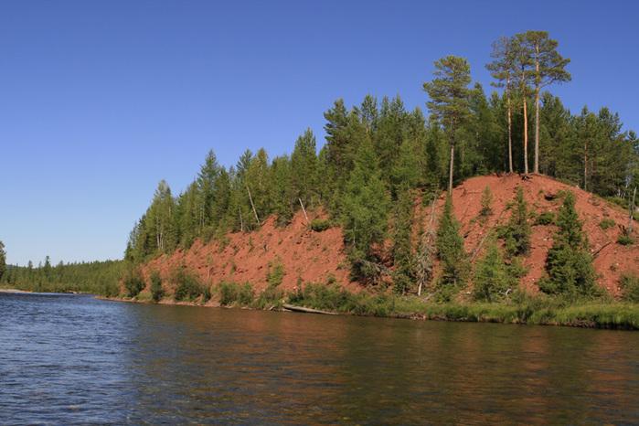 Река Лена, Сибирь