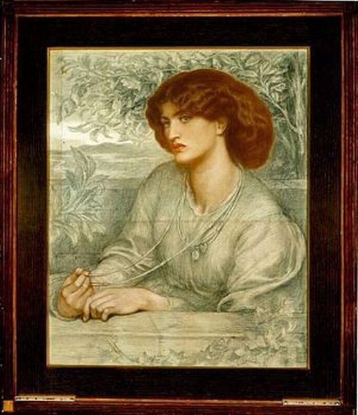 Образ женщины в искусстве прерафаэлитов. Джейн Берден Моррис ...