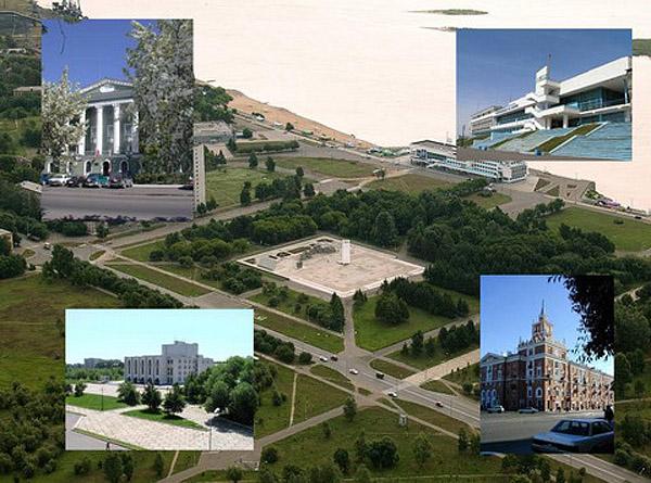 Это наш Комсомольск-на-Амуре.  Он основан в 1932 году.  Это промышленная столица Дальнего Востока.