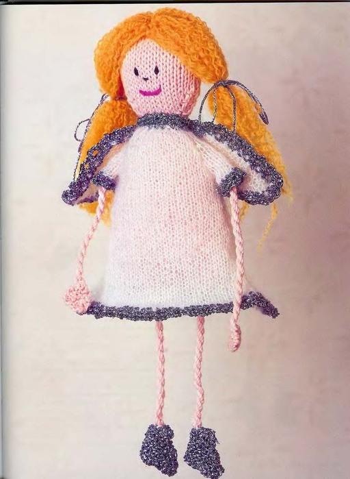 Куклы своими руками вязаные на спицах