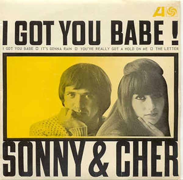 i ve got you babe sonny cher № 277430