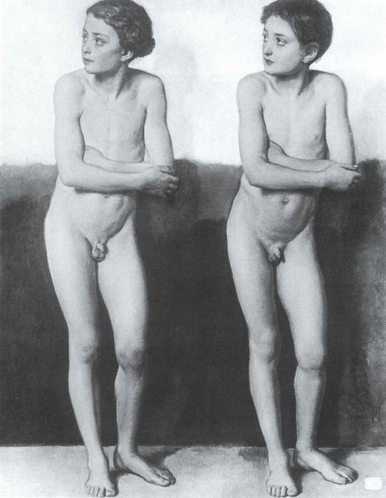 фото обнаженных девочек и мальчиков