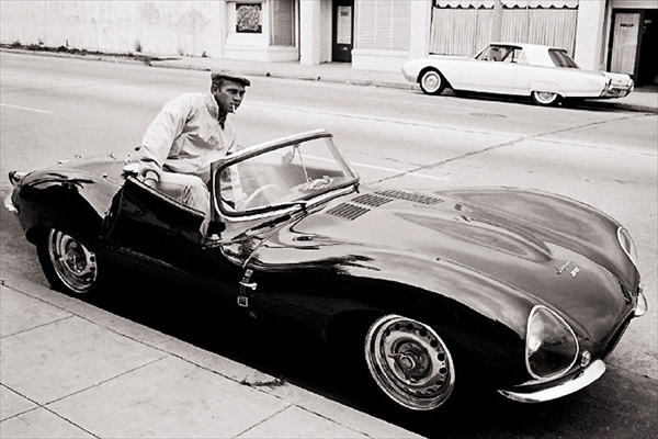 starting of is my old time favourite, Steve McQueen's Jaguar xkss 1957.