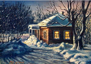 2. красивые зимние пейзажи.  1.
