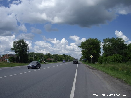 Дорога Москва-Рязань