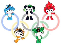 Символы олимпиады в Пекине