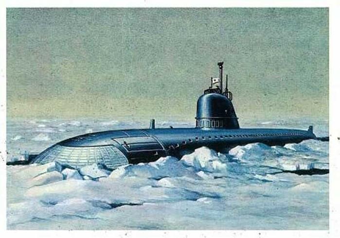 первая атомная подводная лодка ссср фильм