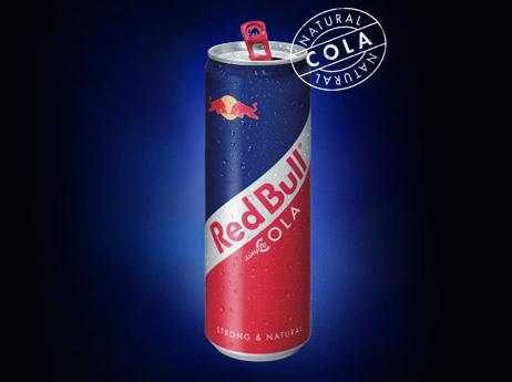 """Напиток безалкогольный  """"Red Bull Cola """" газированный."""