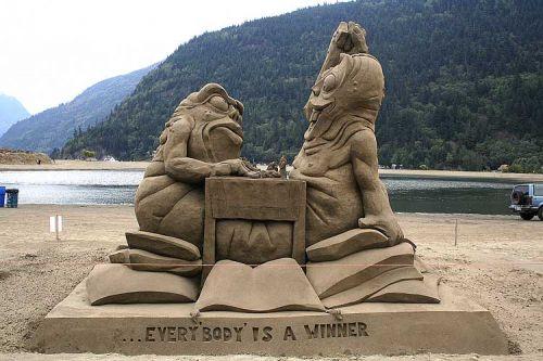 песочные фигуры - Самое интересное в блогах